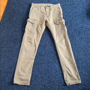 Armani exchange cargo pants